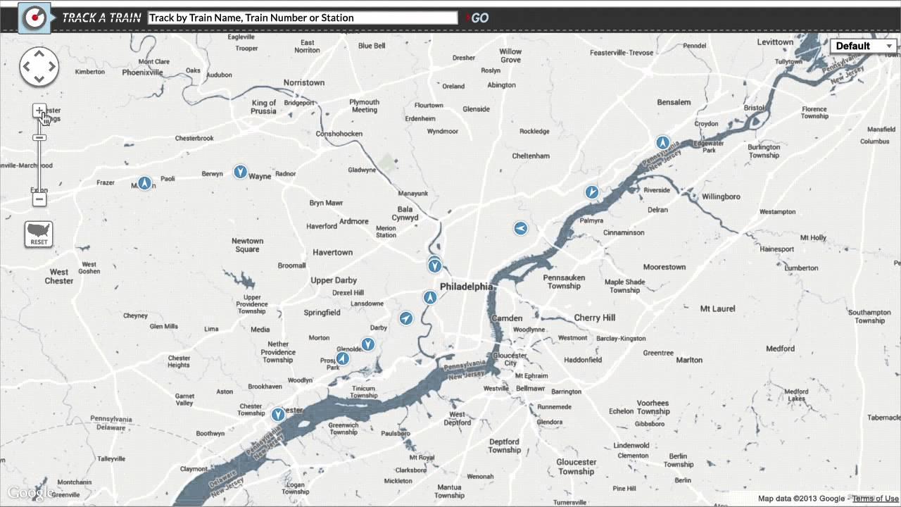 Amtrak Maps Trains From Coast To Coast With Google Maps Engine - Youtube - Amtrak California Zephyr Map