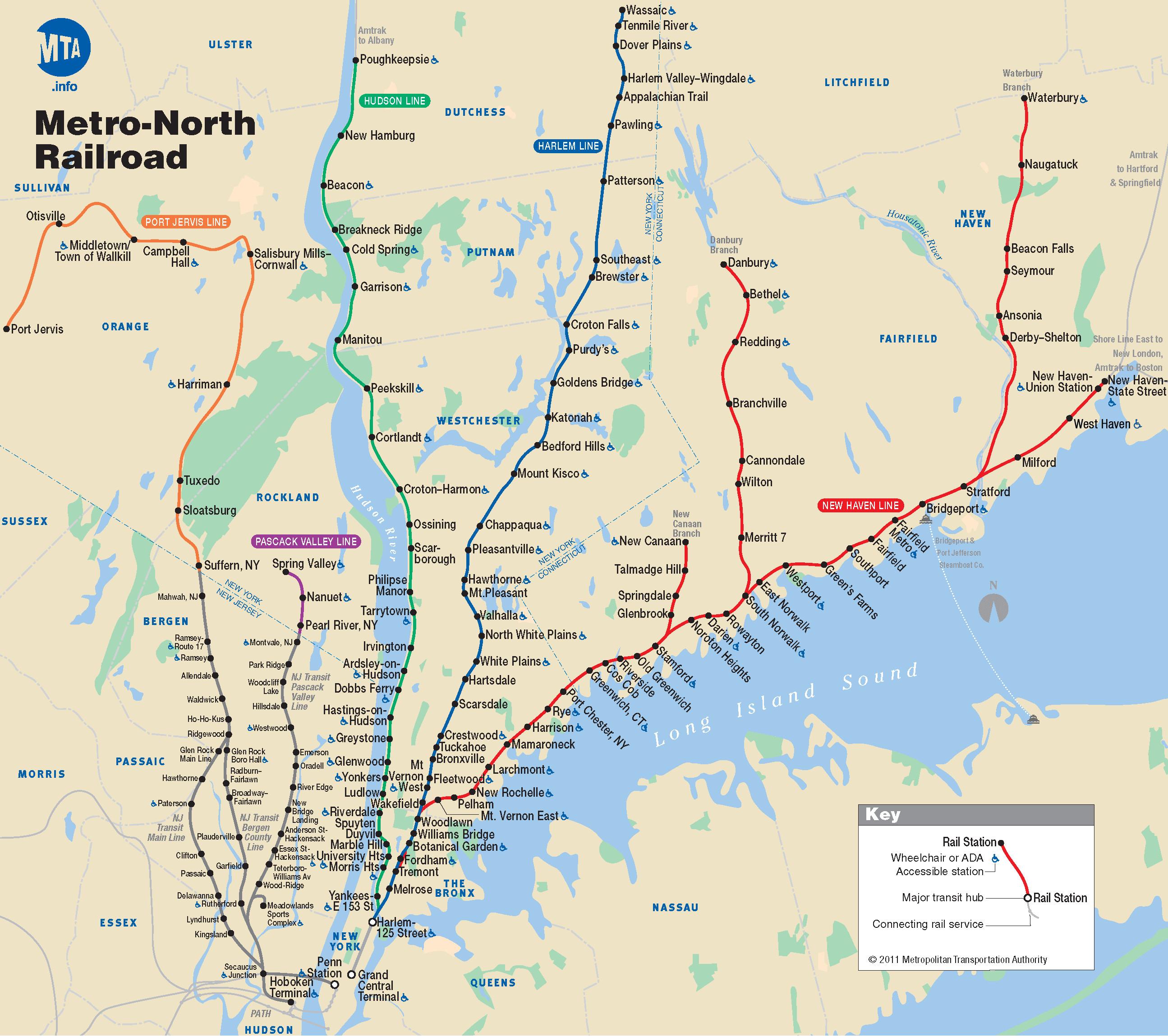 Amtrak Southern California Map Free Printable Metro North Railroad - Southern California Train Map