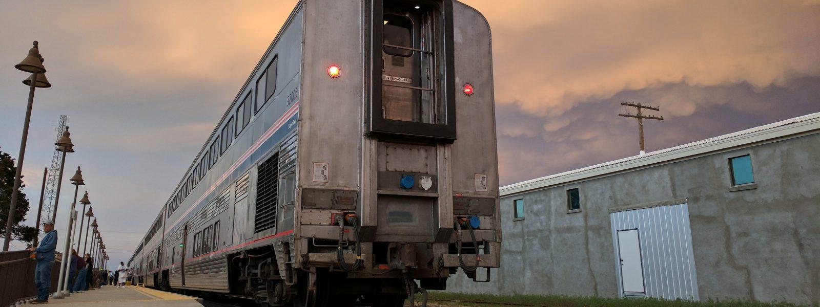 Amtrak's Texas Eagle: La To Dallas Trip Report – Parker's Travel Log - Amtrak Texas Eagle Route Map
