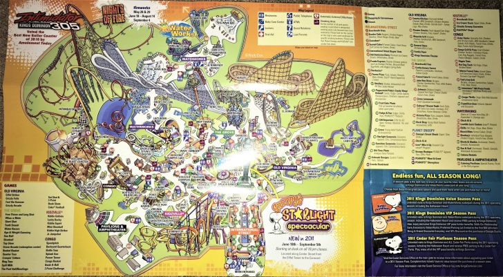 Amusement Parks California Map