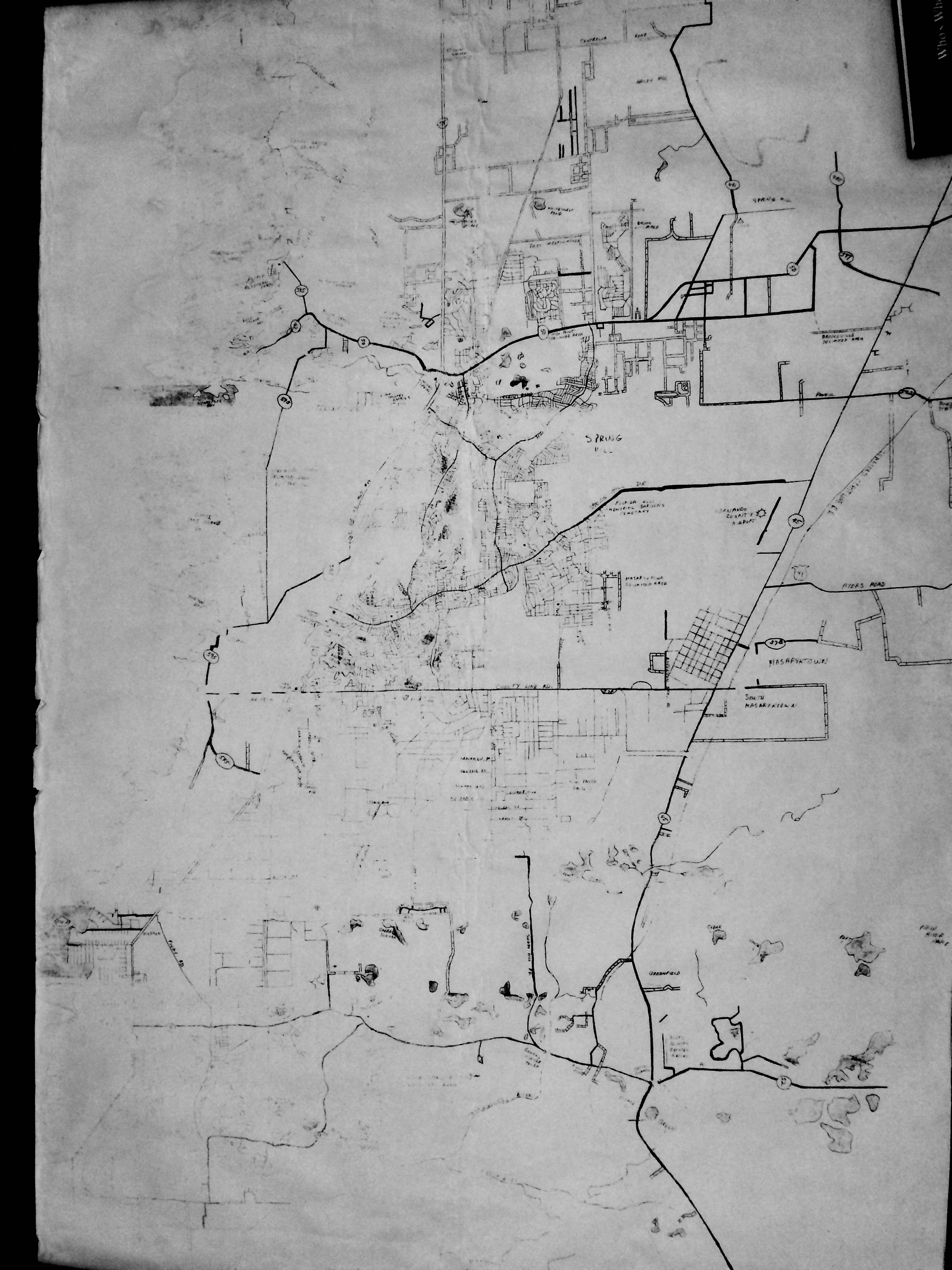 An Old Map Of Hernando County Florida. | My Drawings, Paintings And - Map Of Hernando County Florida