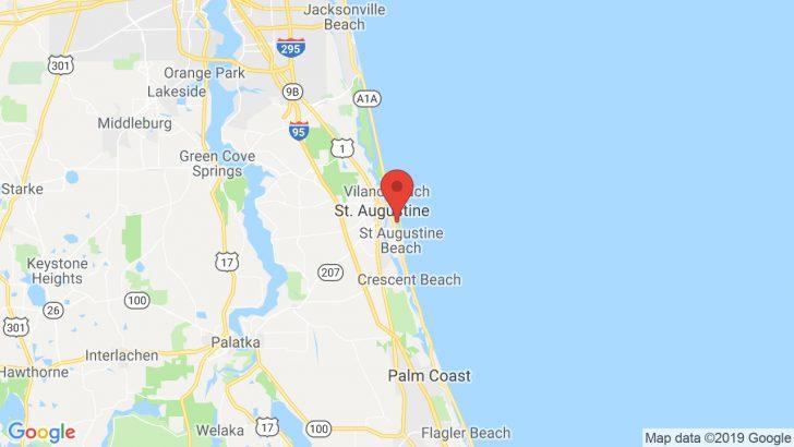 Google Maps St Augustine Florida