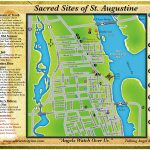 Ancient City Inn B&b Sacred Sites   St Augustine Florida Map Of Attractions