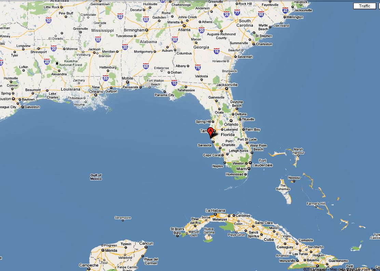 Anna Maria Island Maps - Google Maps St Pete Beach Florida