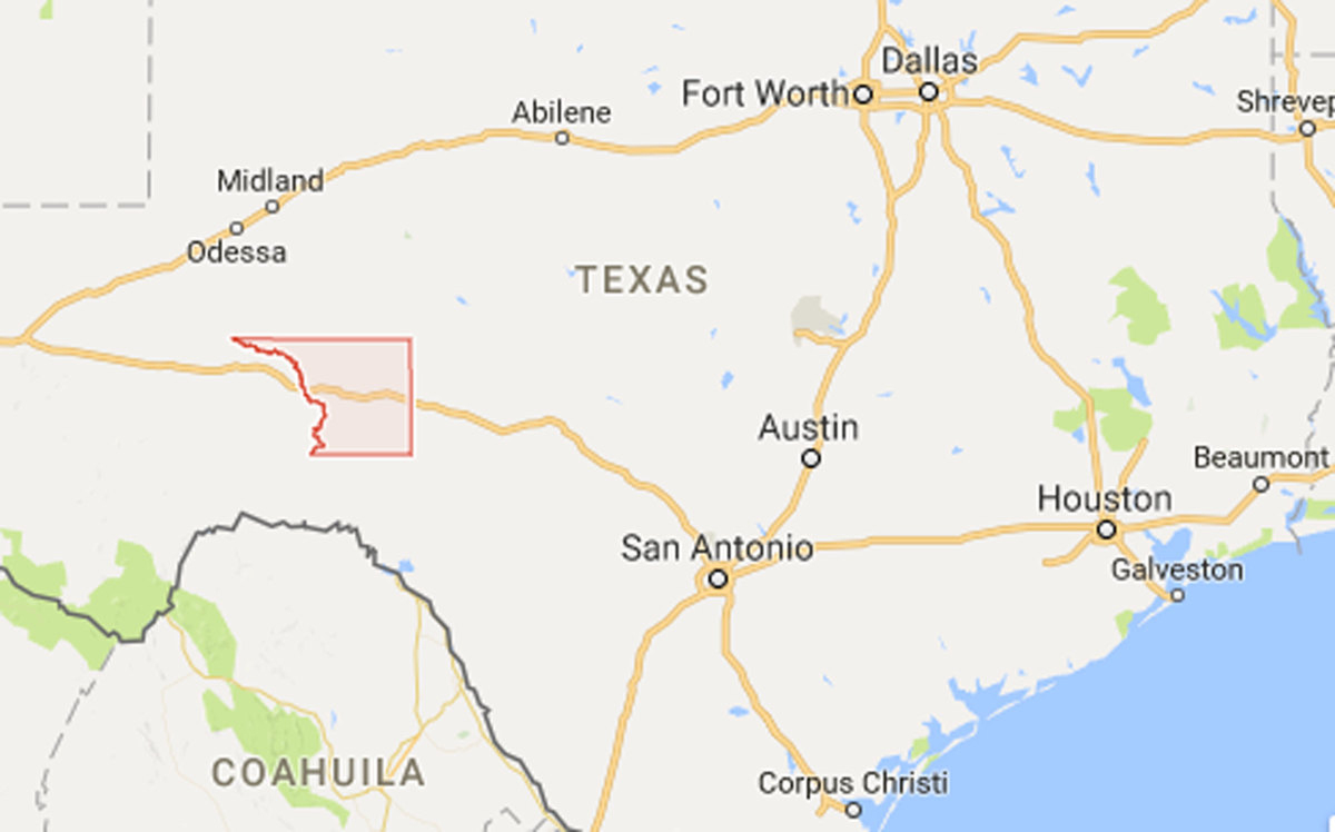 Anthrax Confirmed In Cattle On Texas Premises - Business Solutions - Ozona Texas Map