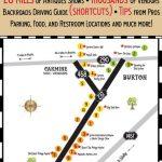 Antiques Show Map   Round Top Register | Thrifty Destinations   Canton Texas Flea Market Map