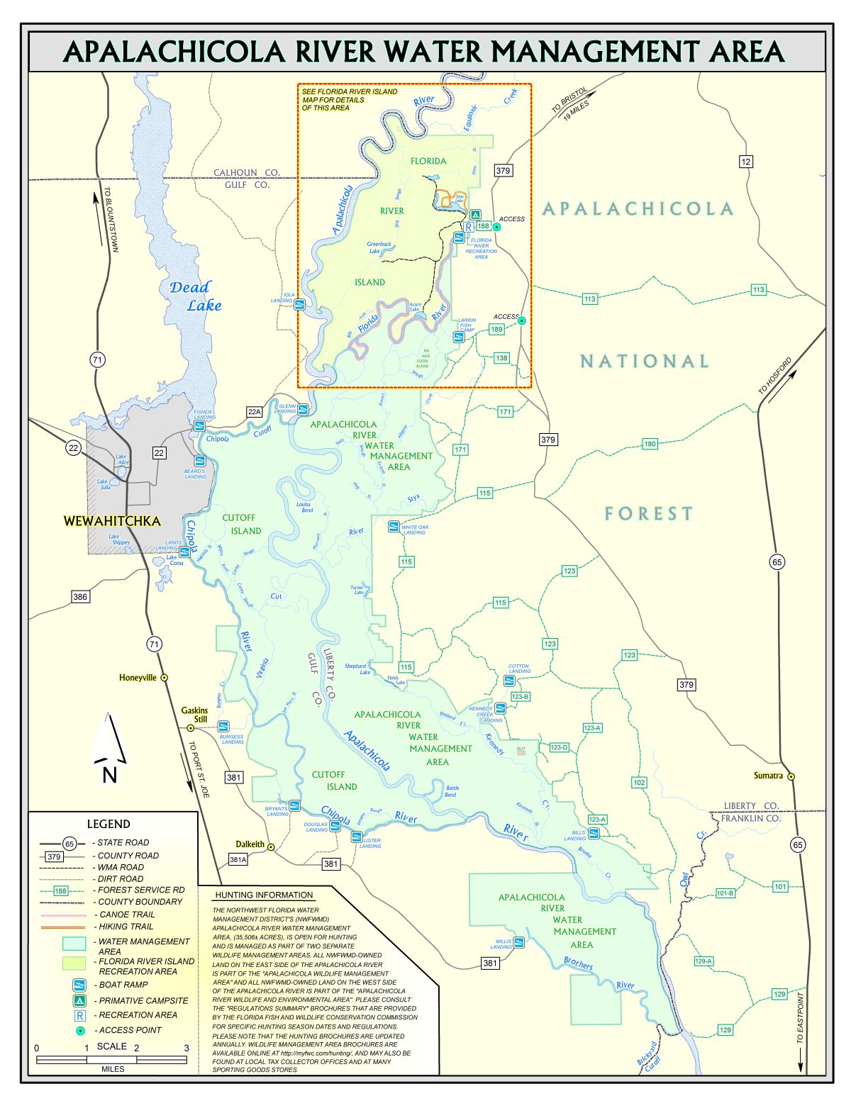 Apalachicola River   Northwest Florida Water Management District - Where Is Apalachicola Florida On The Map