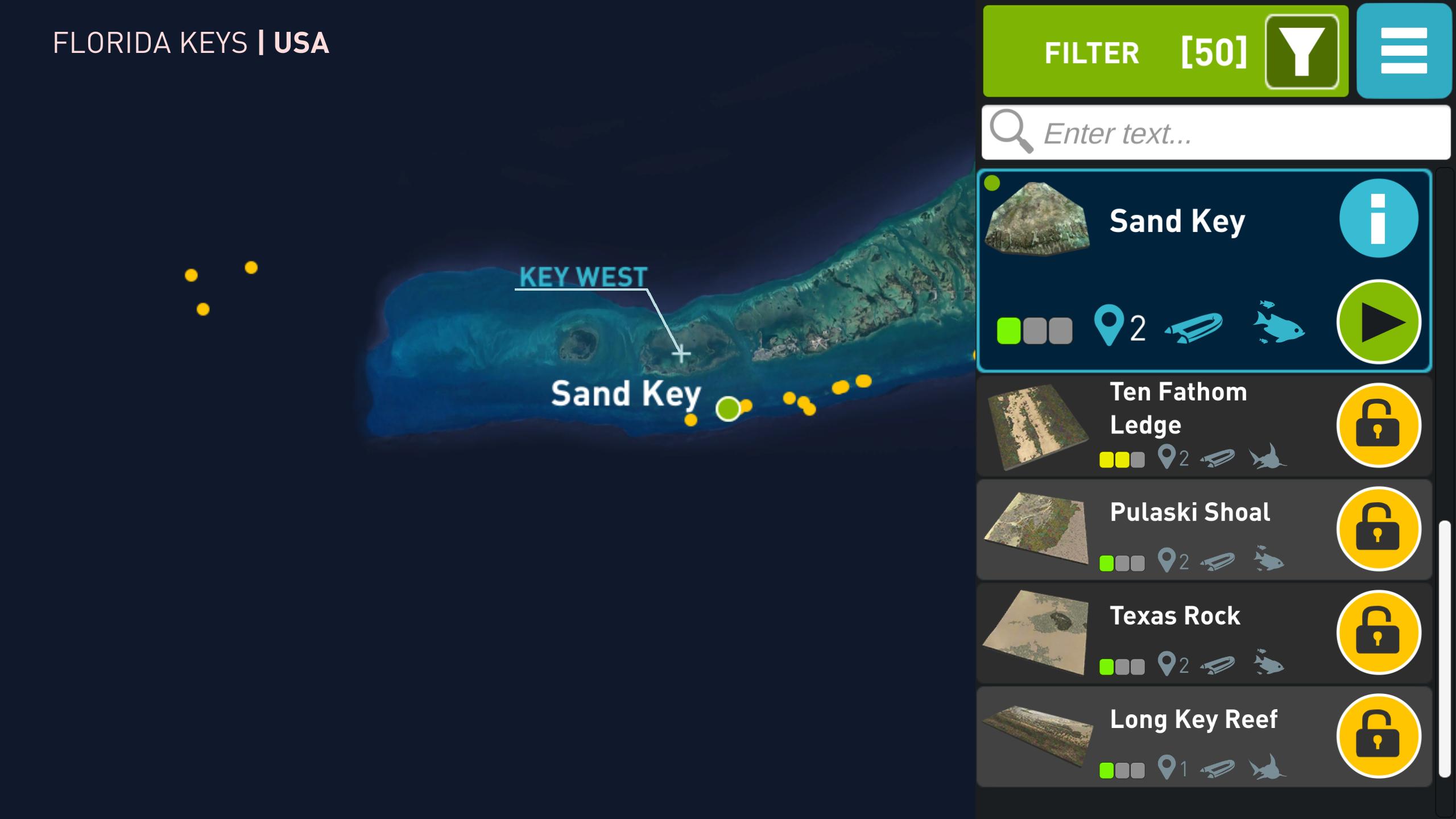 App Review: Ocean Maps – Florida • Scuba Diver Life - Florida Dive Sites Map
