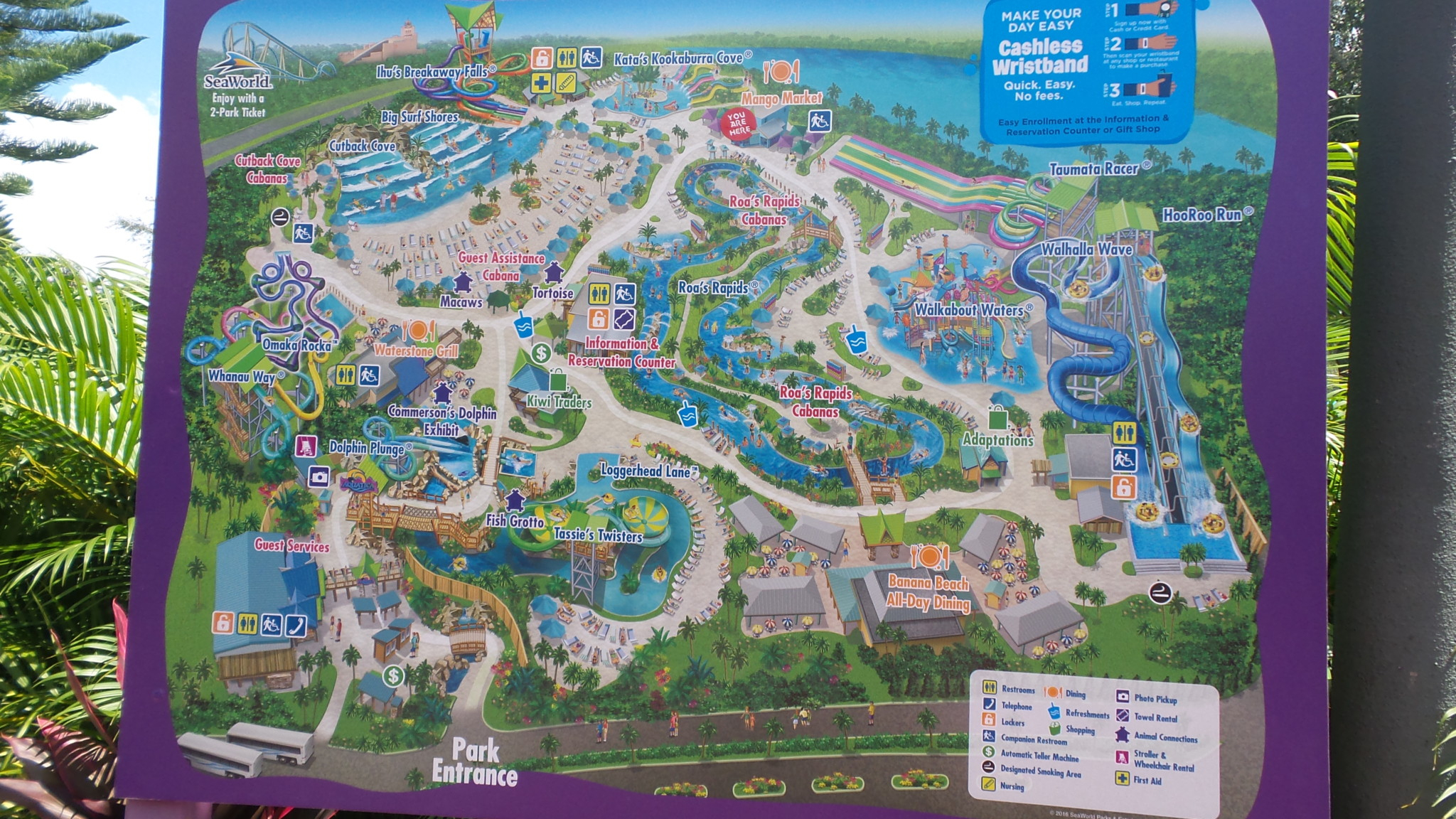 Aquatica Orlando Water Park Map - Best Rangda Ngora - Aquatica Florida Map
