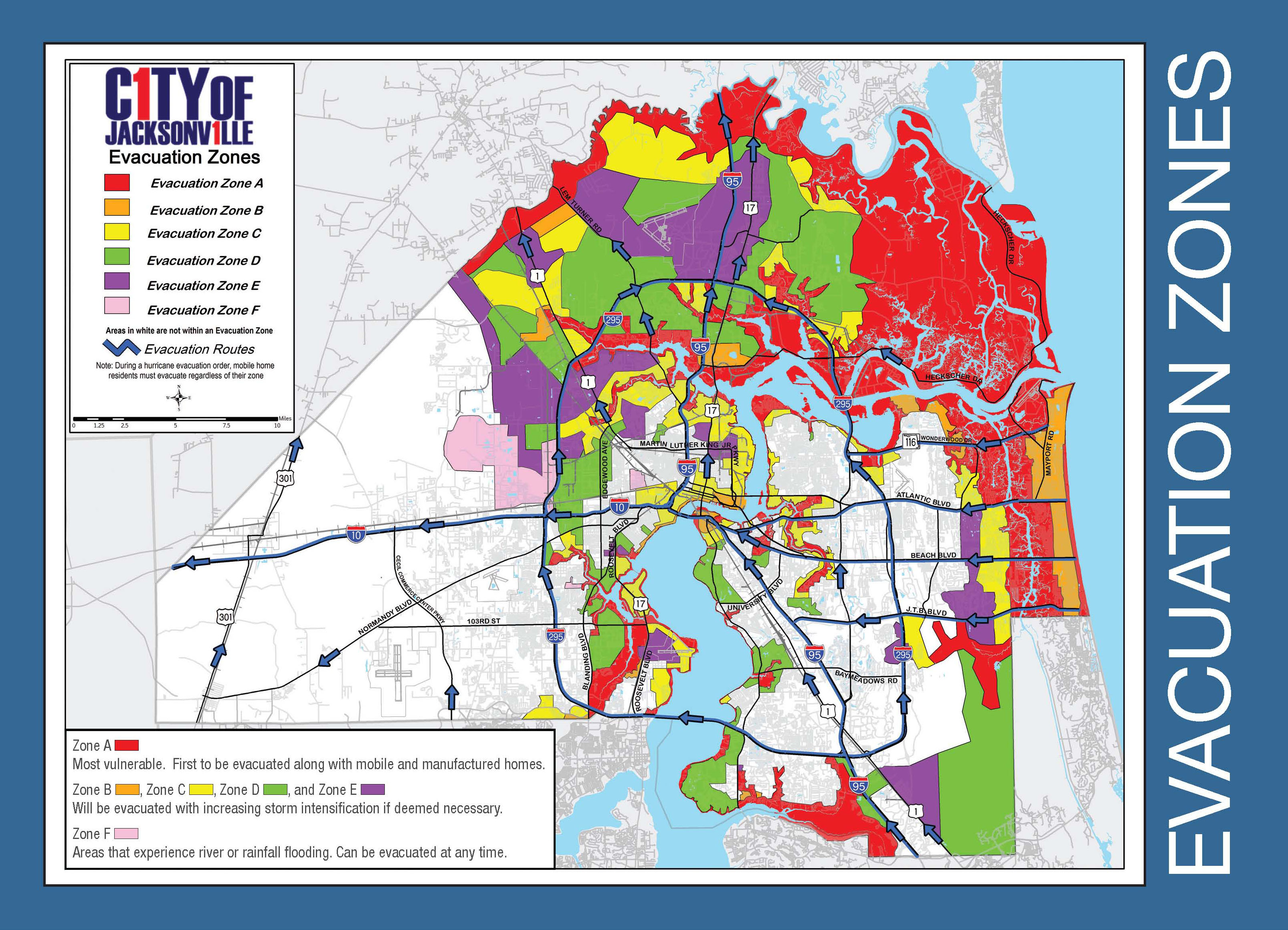 Are You In An Evacuation Zone? Click Here To Find Out - Nassau County Florida Flood Zone Map