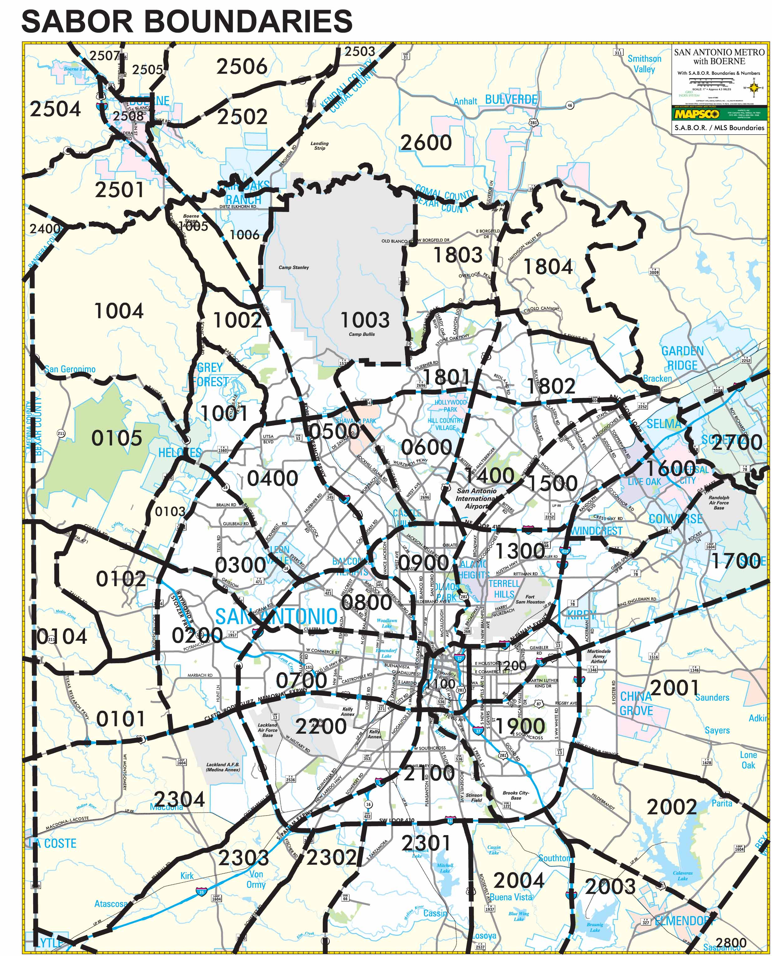 Area Map - Affordable Houses For Sale In San Antonio - Map Of San Antonio Texas Area