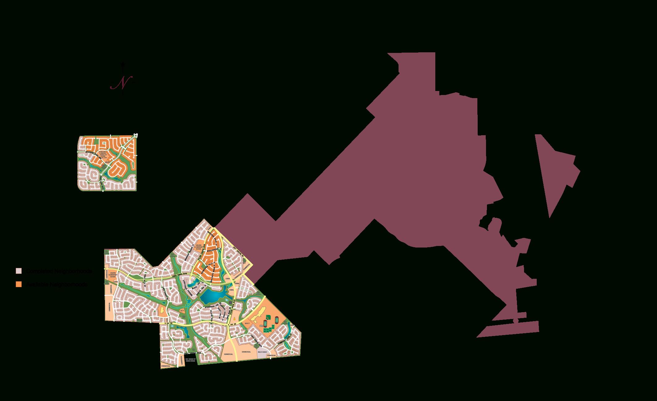 Area Map - Map Of Cinco Ranch Texas