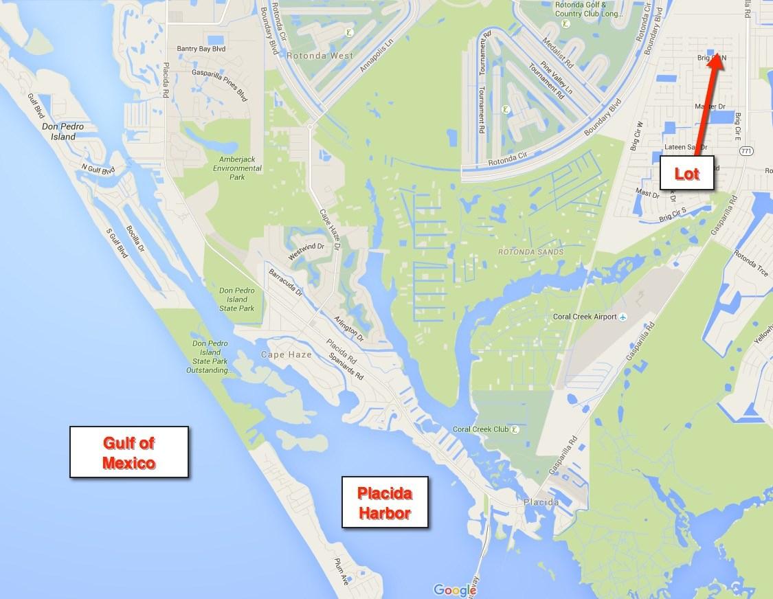 Area Rotonda And West Map Florida Naples - Rotonda Florida Map