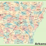 Arkansas Road Map   Arkansas Road Map Printable