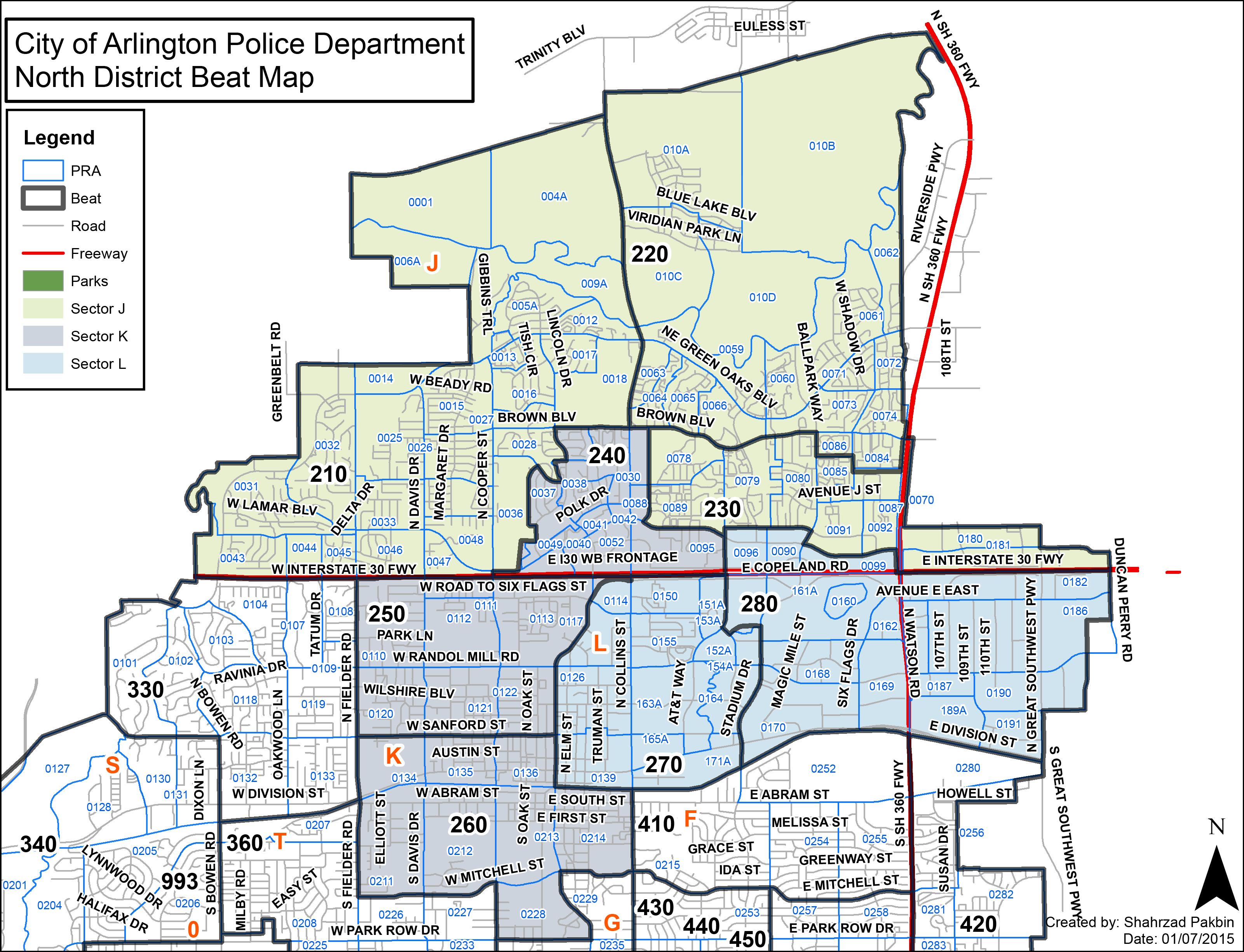 Arlington Citizen Police Academy Alumni Association - Volunteering Page - Map Of The Parks Mall In Arlington Texas
