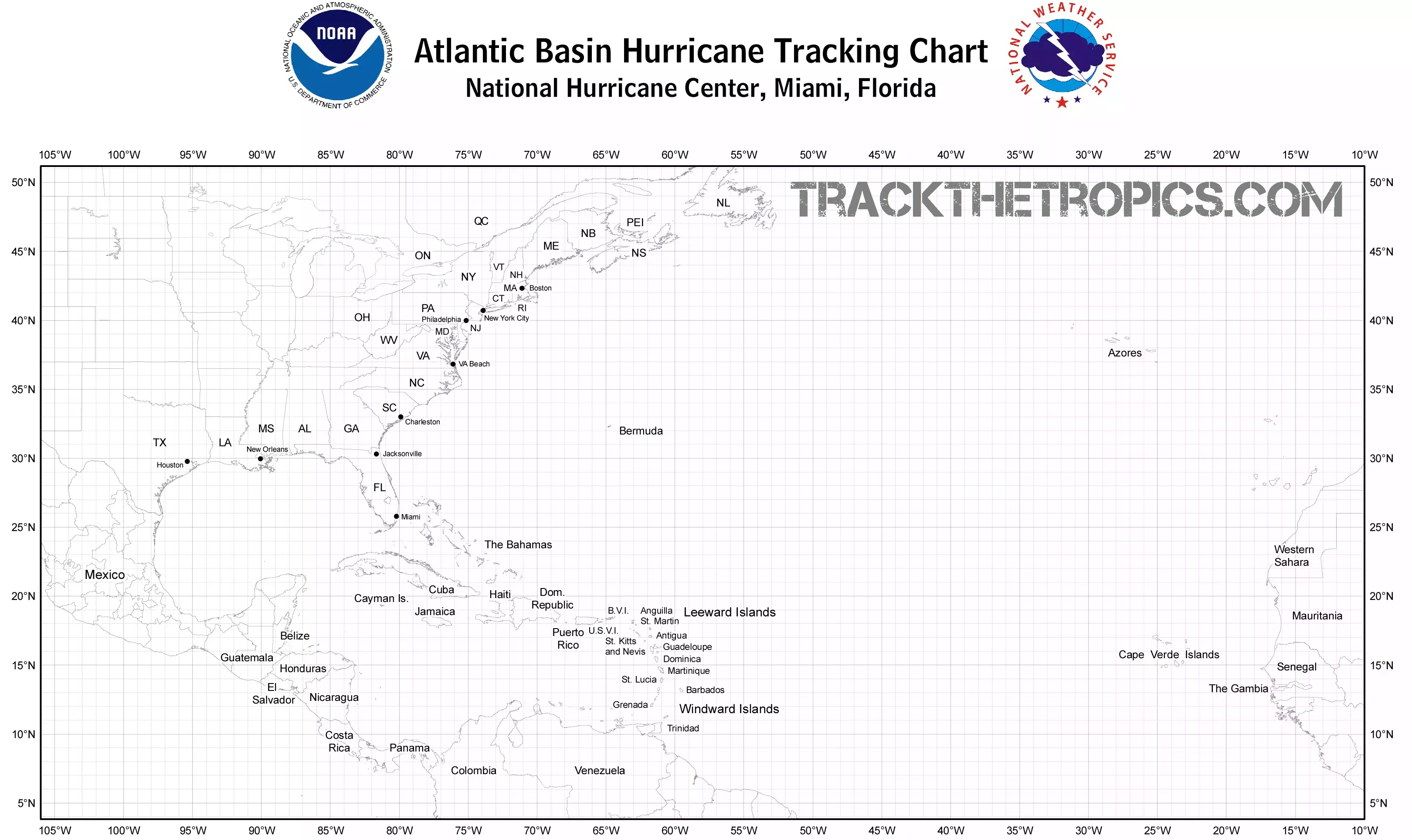 photo relating to Printable Hurricane Tracking Map called Printable Hurricane Monitoring Chart Weather conditions Phrases And What