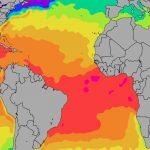 Atlantic Ocean Sea Temperatures   Florida Water Temperature Map