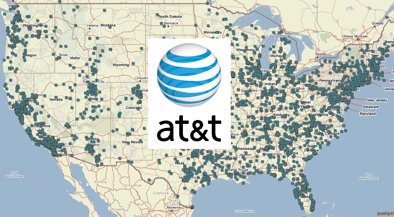 At&t Coverage Map California - Klipy - At&t Coverage Map In California