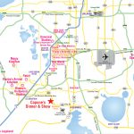 Attractions Map : Orlando Area Theme Park Map : Alcapones   Orlando Florida Location On Map