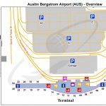 Austin Bergstrom Airport Map   Austin Bergstrom International   Austin Texas Airport Terminal Map