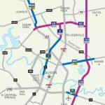 Austin Route À Péage) Carte   Carte De Austin Route À Péage (Texas   Texas Toll Roads Map