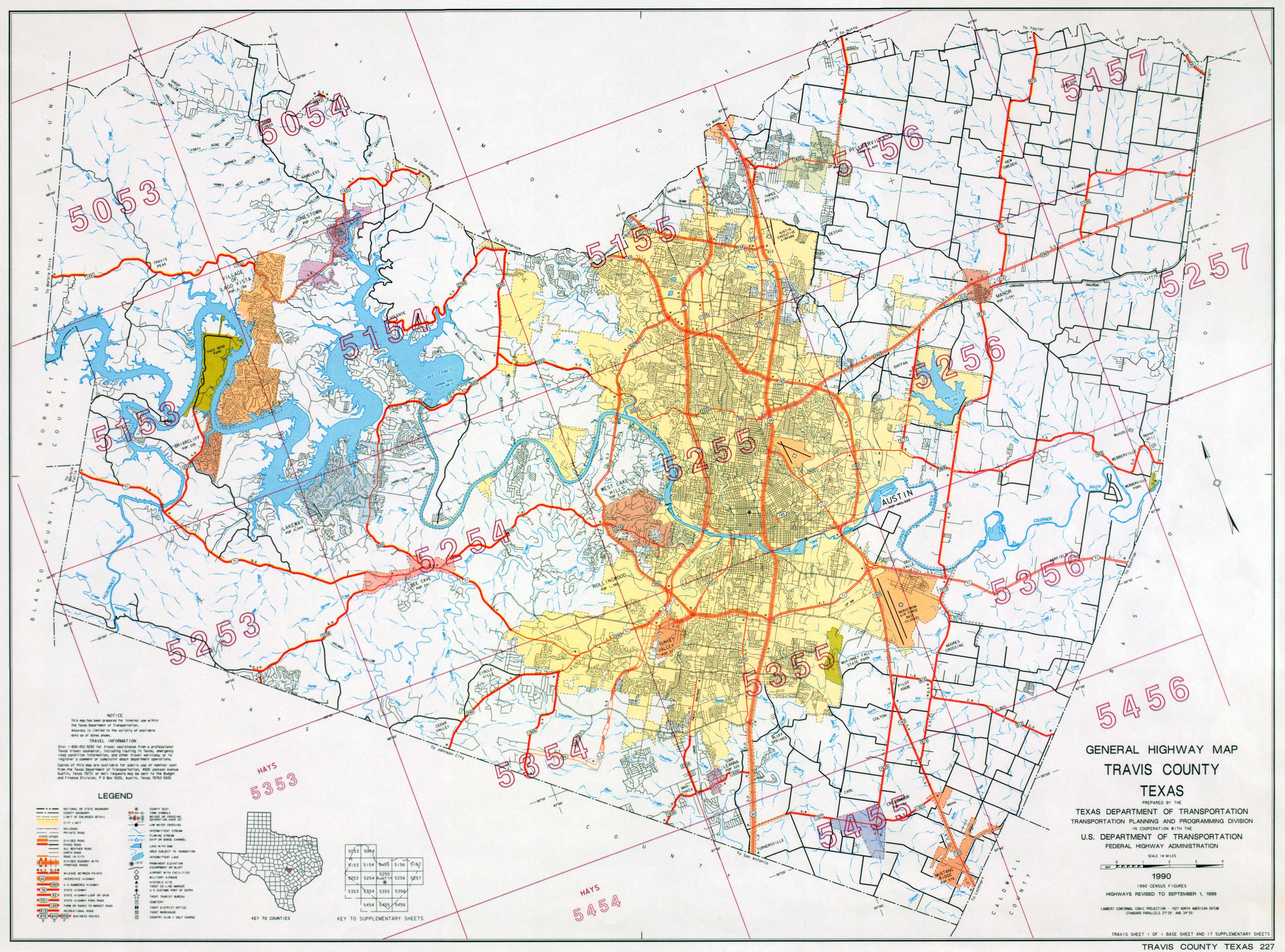 Austin, Texas Maps - Perry-Castañeda Map Collection - Ut Library Online - Austin Texas Bike Map
