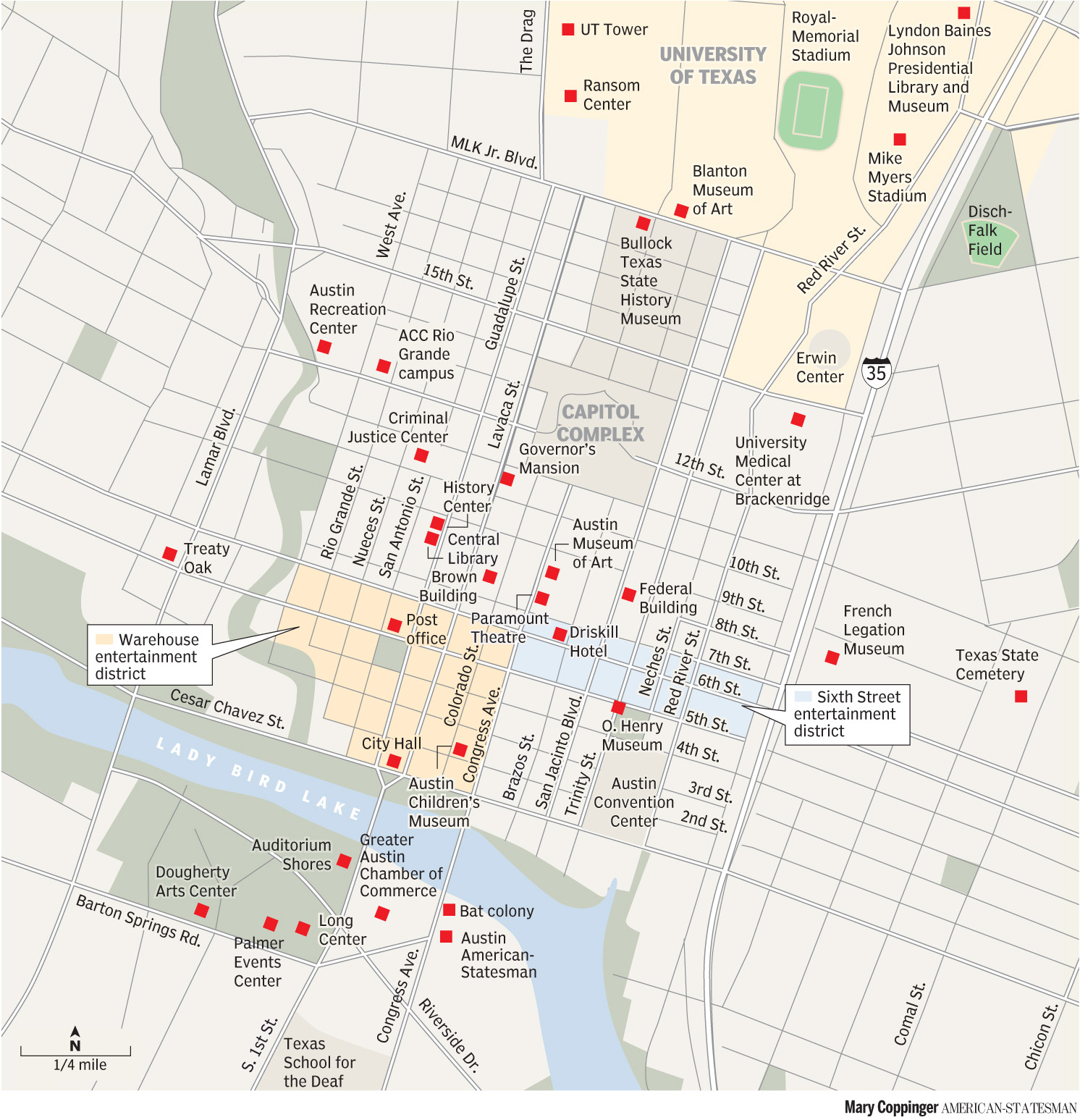 Austin, Texas Maps - Perry-Castañeda Map Collection - Ut Library Online - Austin Texas Google Maps