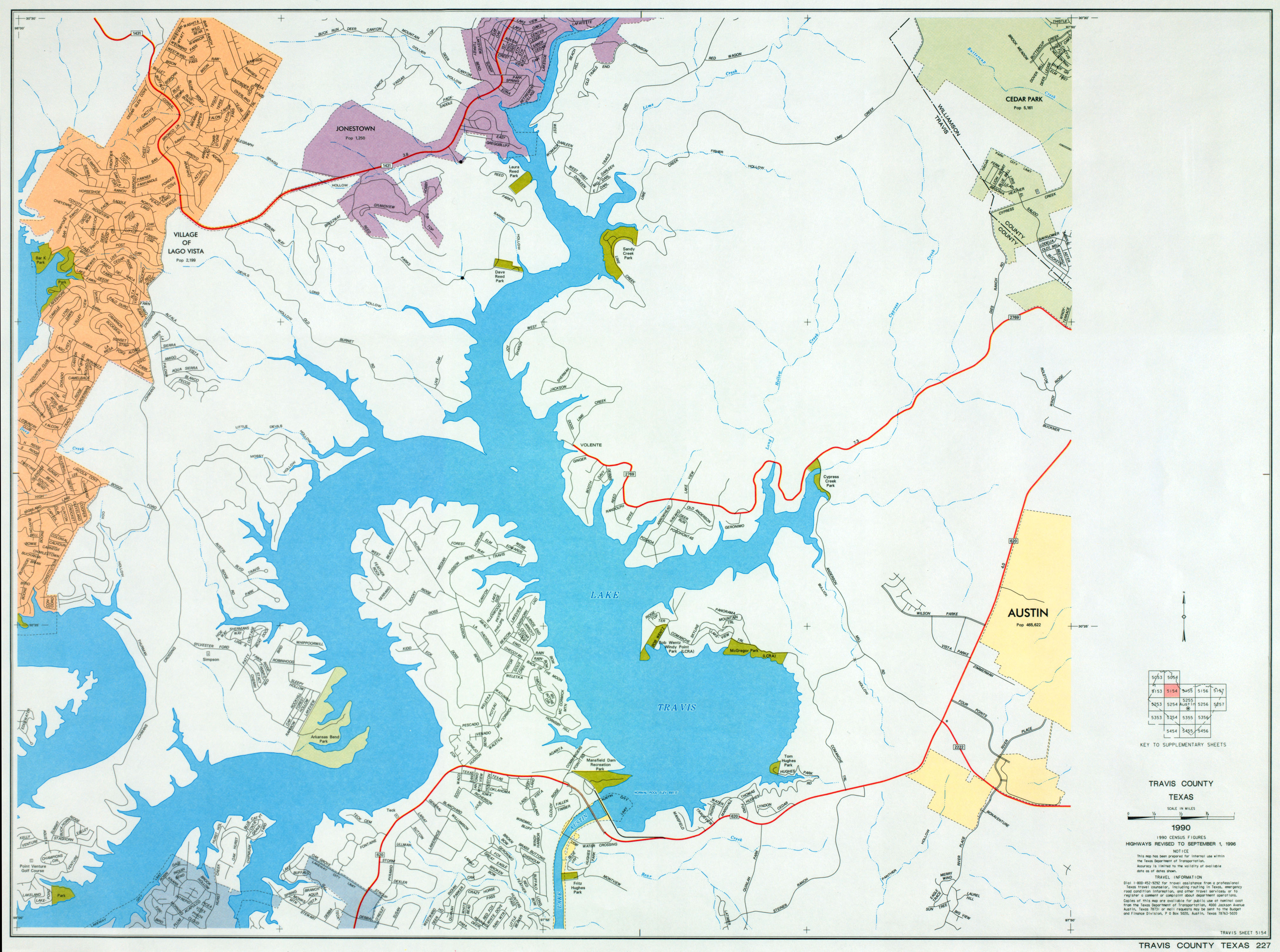 Austin, Texas Maps - Perry-Castañeda Map Collection - Ut Library Online - Cedar Park Texas Map