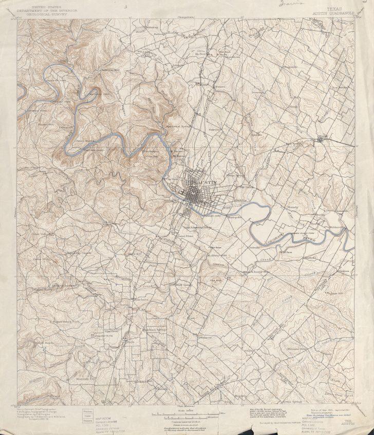 Austin Texas Elevation Map