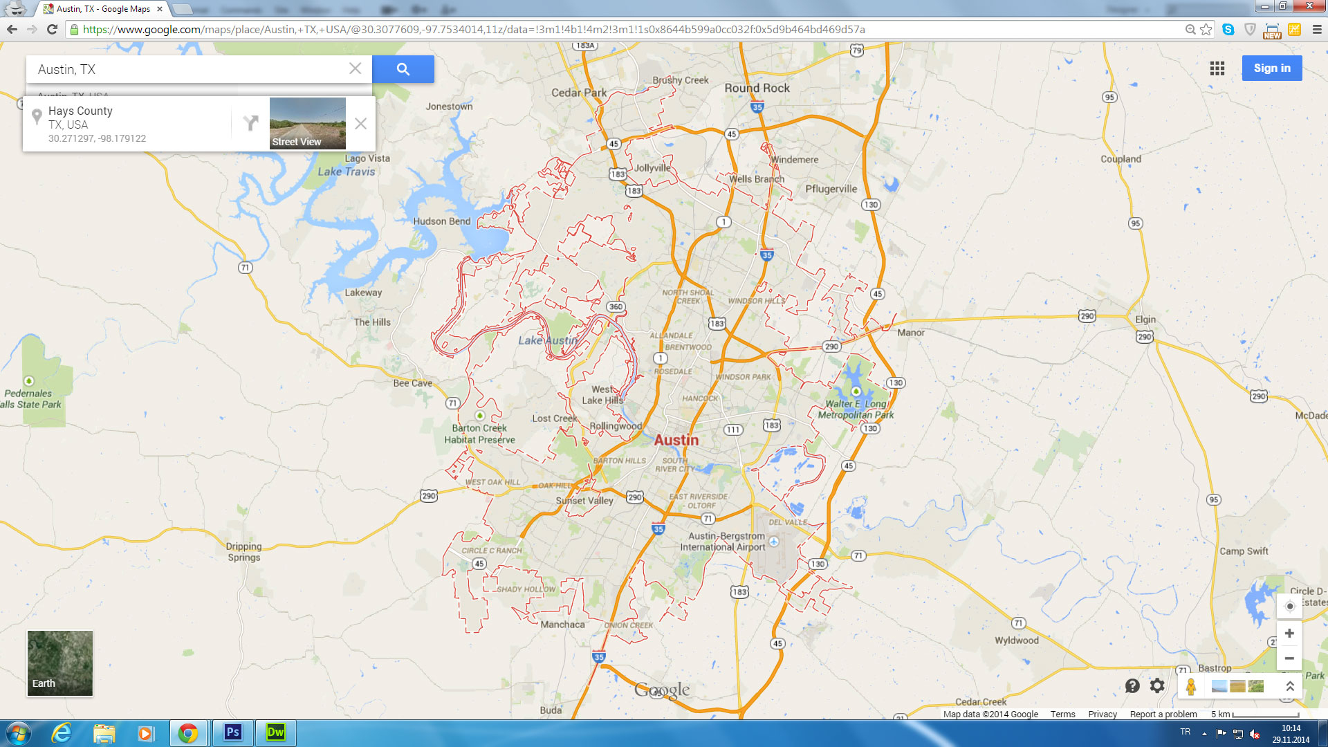 Austin Tx Google Maps #551035 - Austin Texas Google Maps