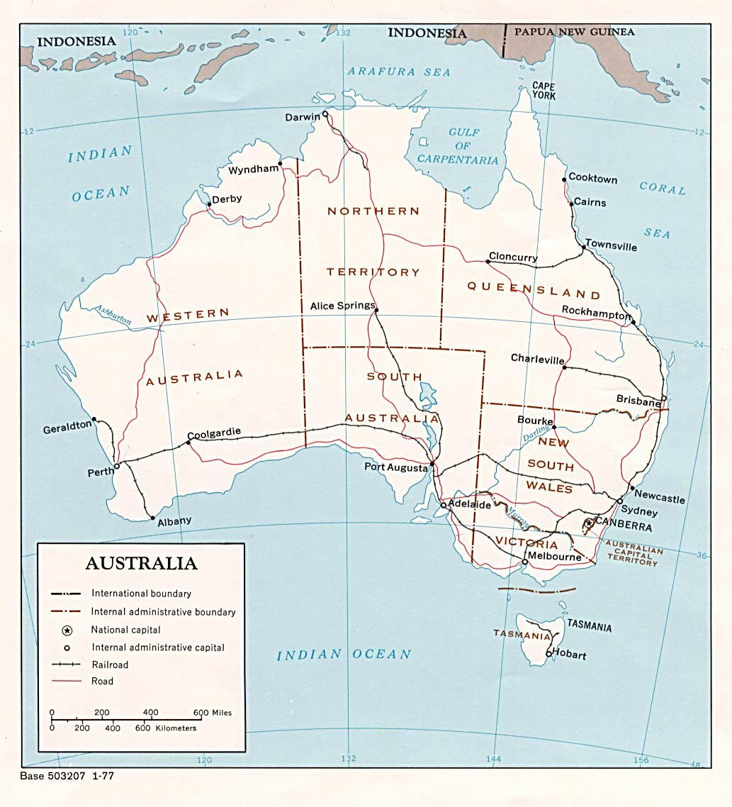 Australia Maps | Printable Maps Of Australia For Download - Large Printable Maps