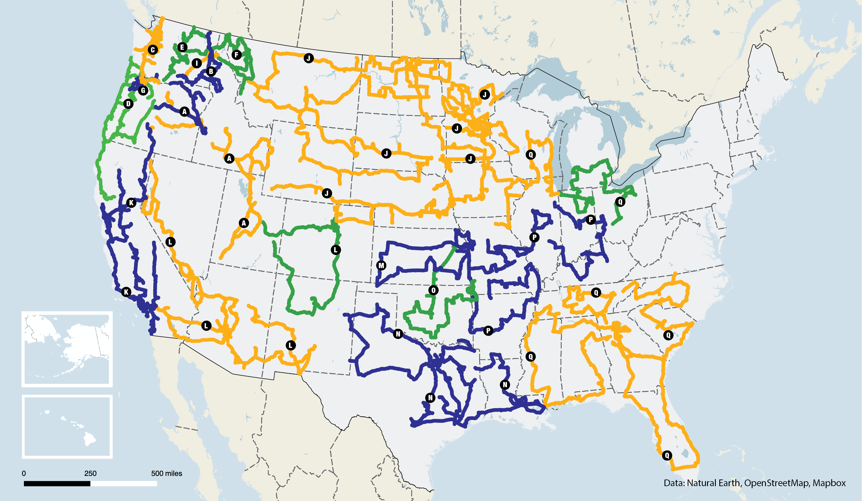 Azure Maps (For Drops And Routes) • Azure Standard | Natural Organic - California Truck Routes Map