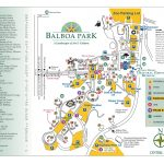 Balboa Park Map   Map Of Balboa Park San Diego (California   Usa)   Map Of Balboa Park San Diego California