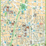 Barcelona City Center Map   Barcelona Street Map Printable