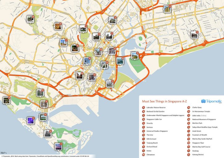 Barcelona Tourist Map Printable