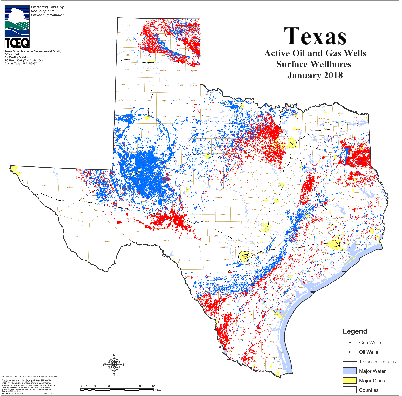 Barnett Shale Maps And Charts - Tceq - Www.tceq.texas.gov - Mineral Wells Texas Map