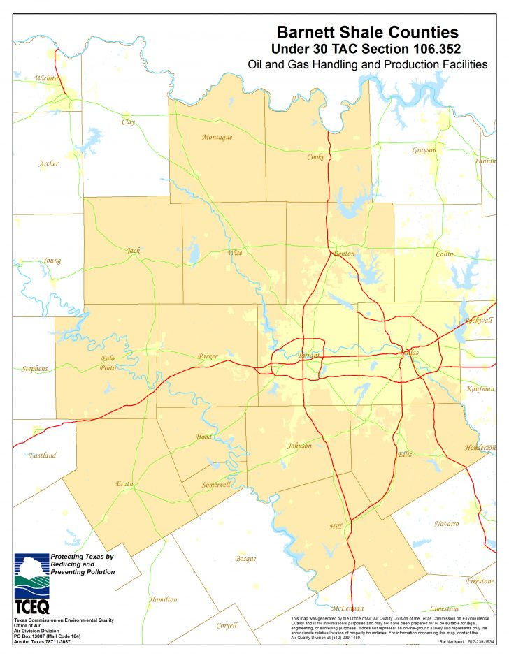 Texas Oil And Gas Well Map