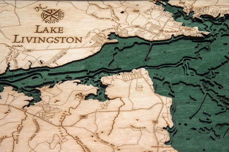 Map Of Lake Livingston Texas