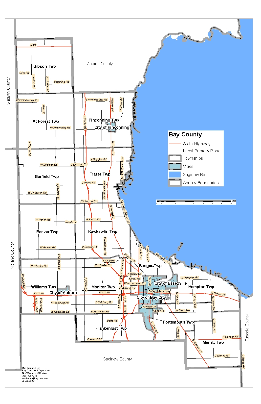 Bay County - The Official Bay County Michigan Government Website - Bay County Florida Gis Maps