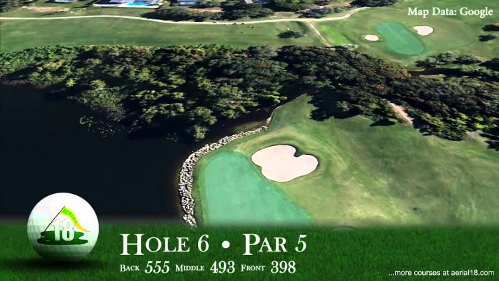 Best Golf Courses In Florida Map