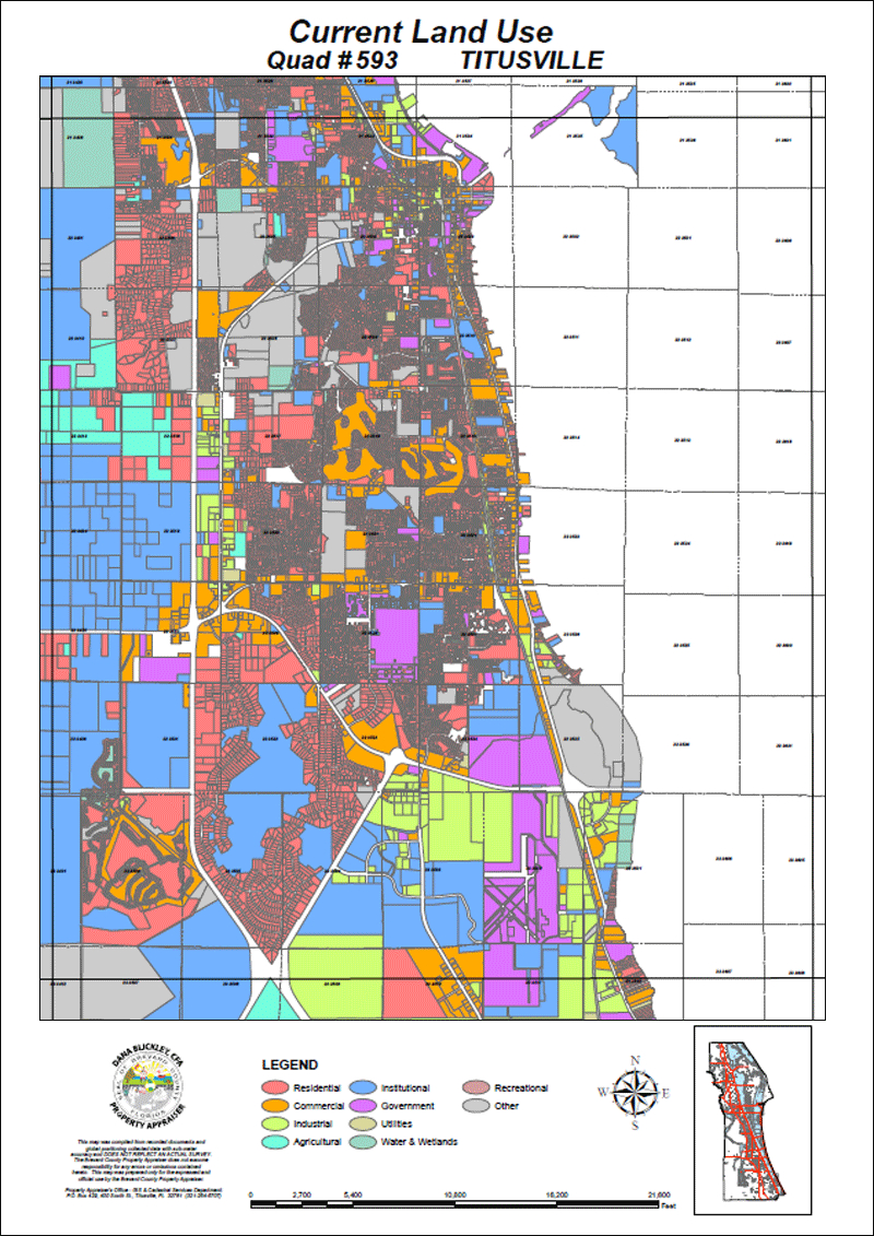 Bcpao - Maps & Data - Florida Property Tax Map