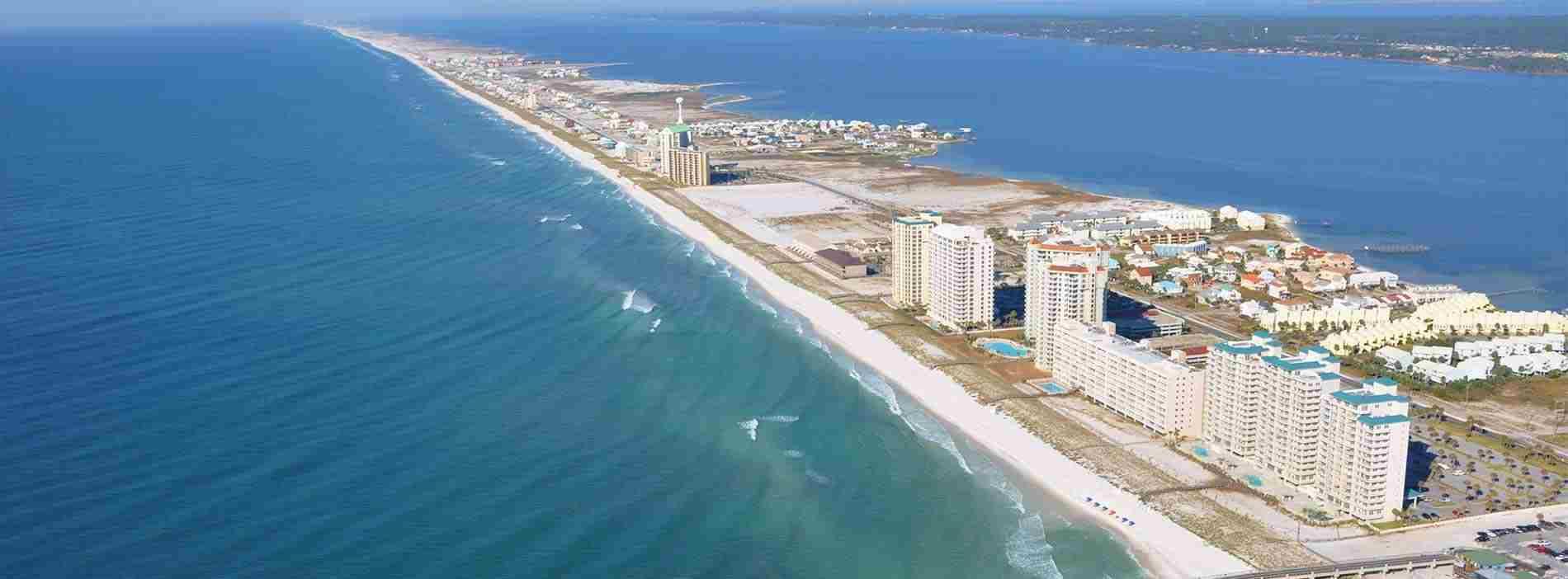 Beach Rentals At Navarre   Vacation Rentals Navarre Beach - Navarre Beach Florida Map