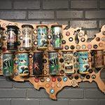 Beer Cap Maps: Travel & Craft Beer » The Brew Brotha   Texas Beer Cap Map