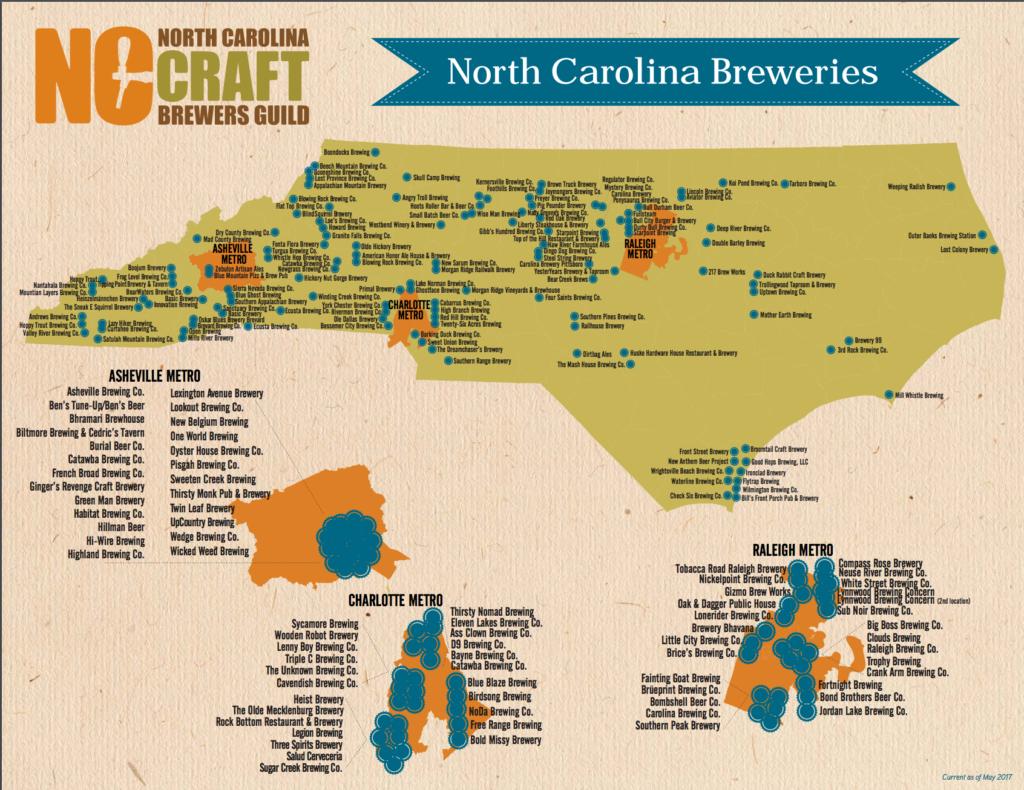 Beer Map Of Map California California Brewery Map Maps With Road - California Beer Map