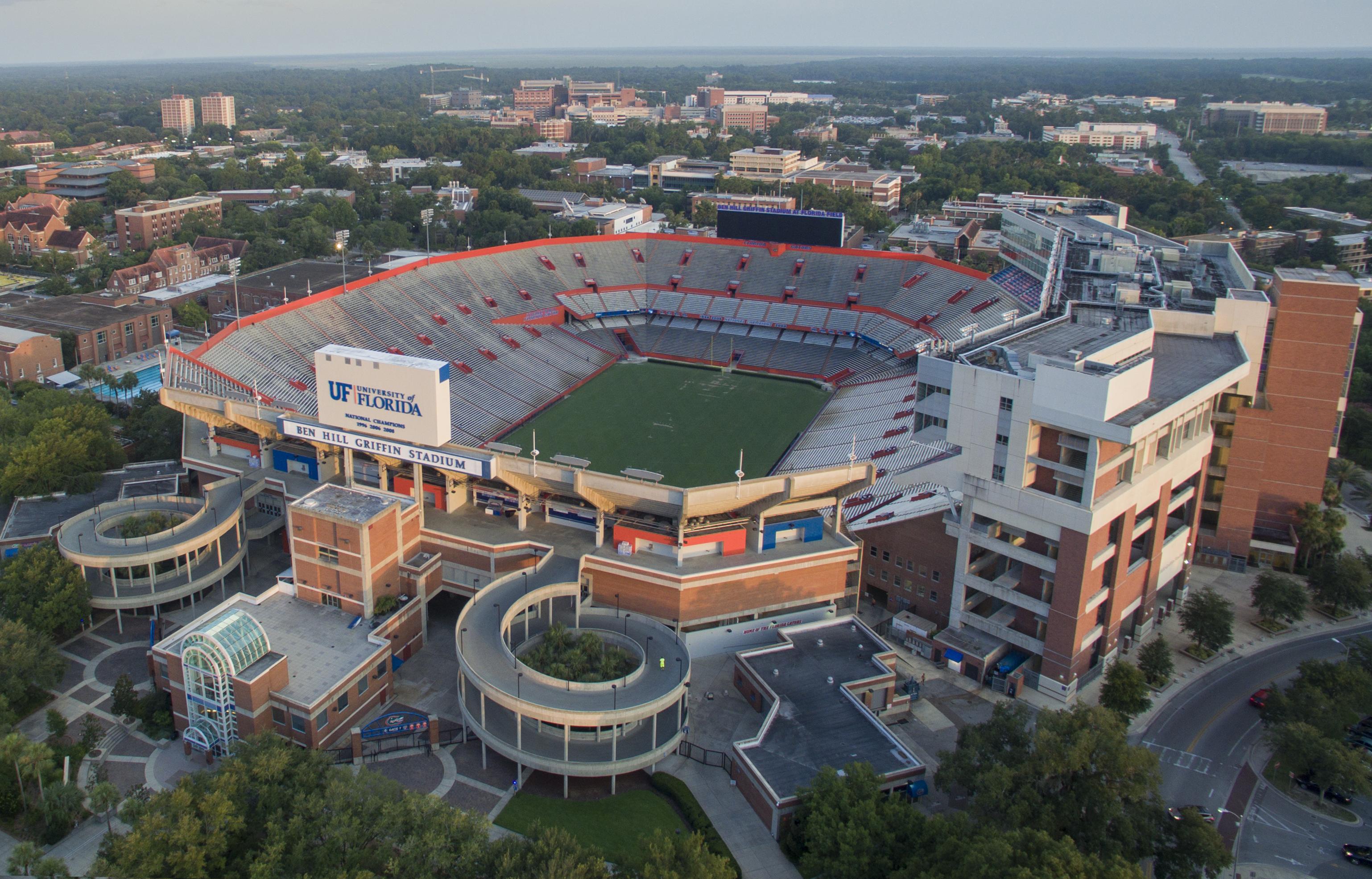 Ben Hill Griffin Stadium - Wikipedia - University Of Florida Football Stadium Map