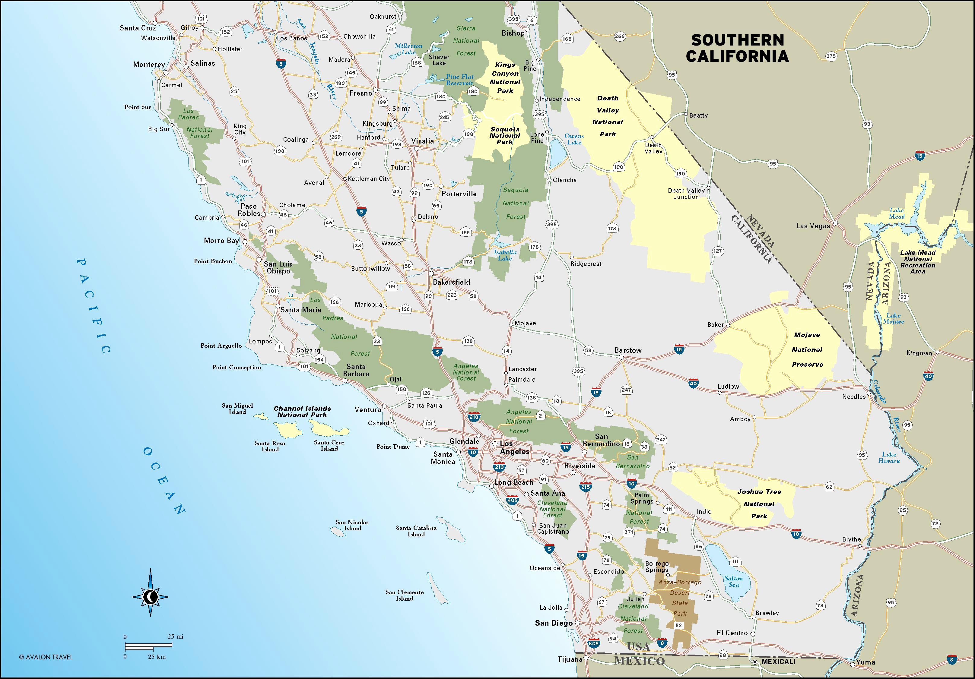 Best Beaches Southern California Map Beautiful Southern California - Pismo Beach California Map