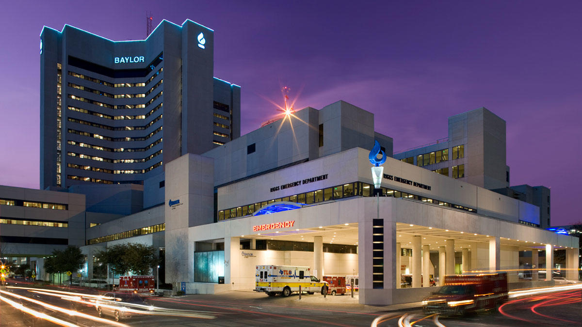 Best Hospitals In Texas: U.s. News & World Report - Nbc 5 Dallas - Baylor Hospital Dallas Texas Map