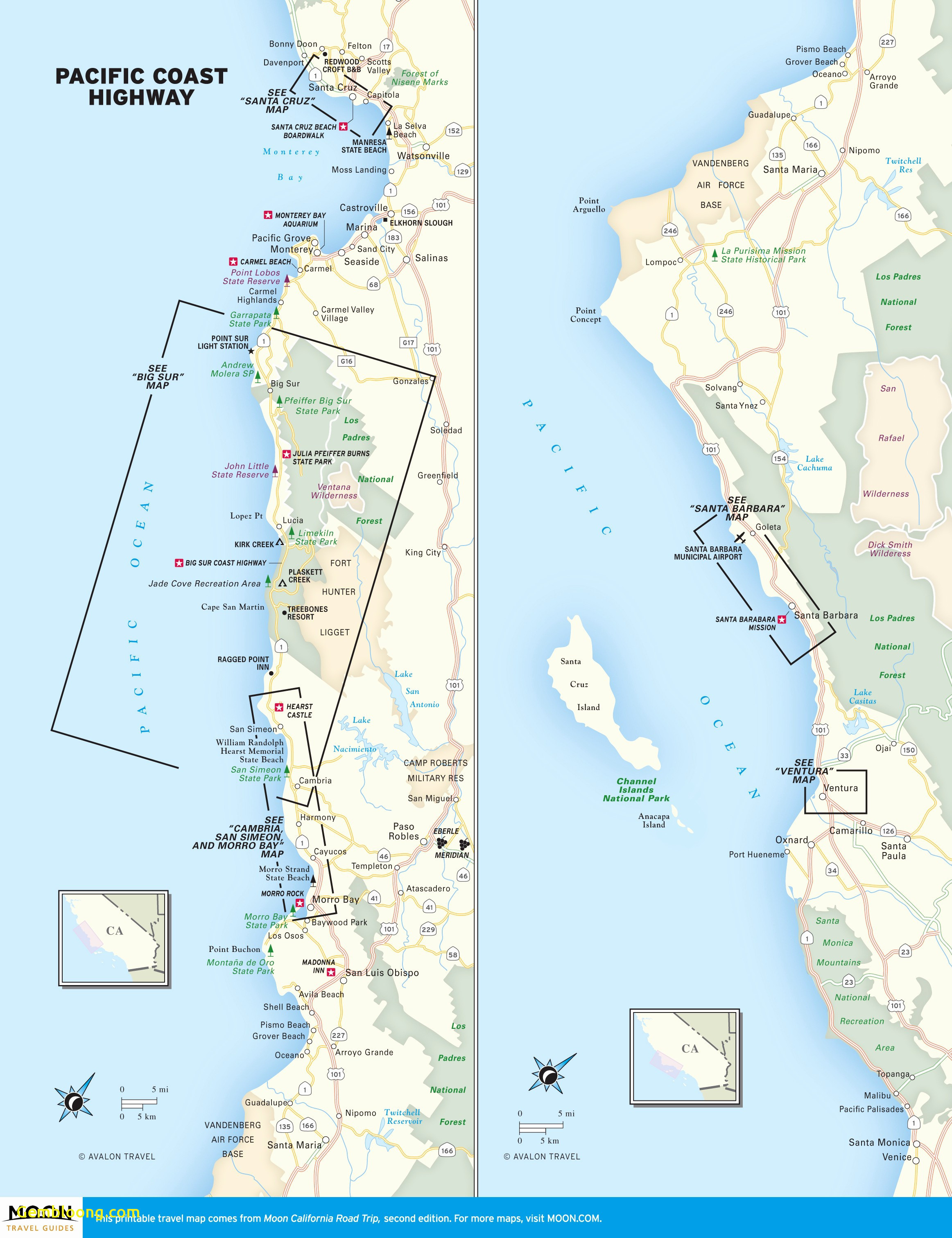 Best Maps For Us Road Trips Path Beautiful California Coast Road - Printable Road Trip Maps