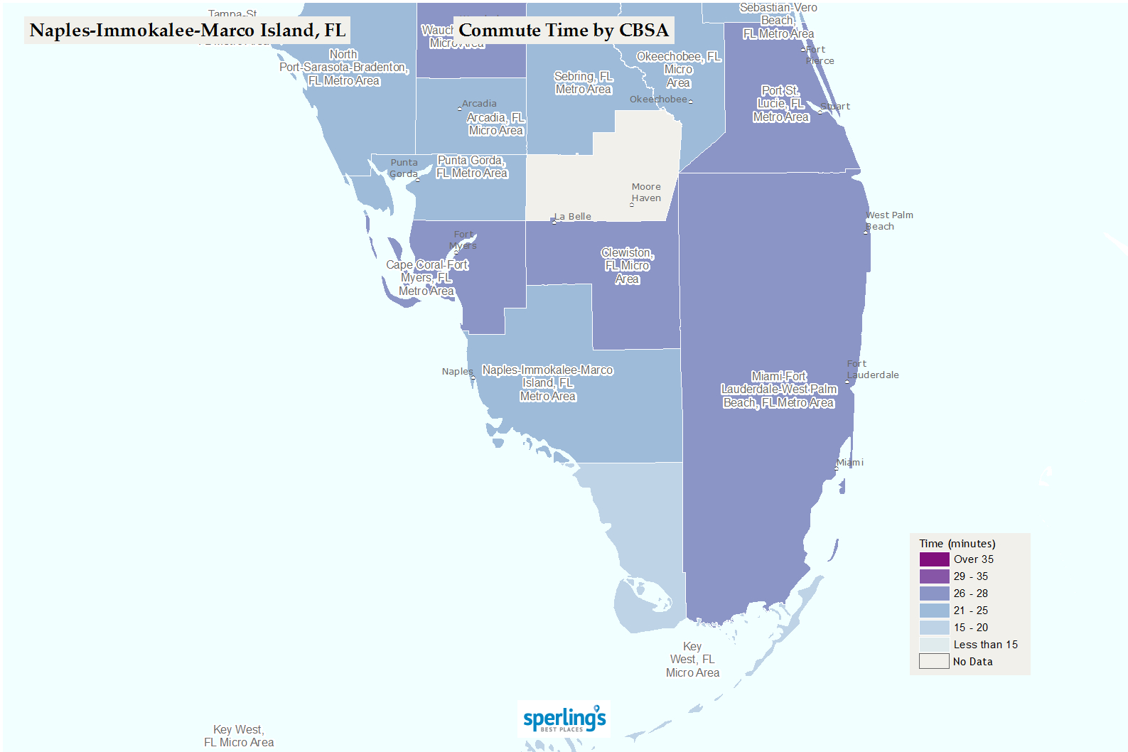 Best Places To Live | Compare Cost Of Living, Crime, Cities, Schools - Immokalee Florida Map