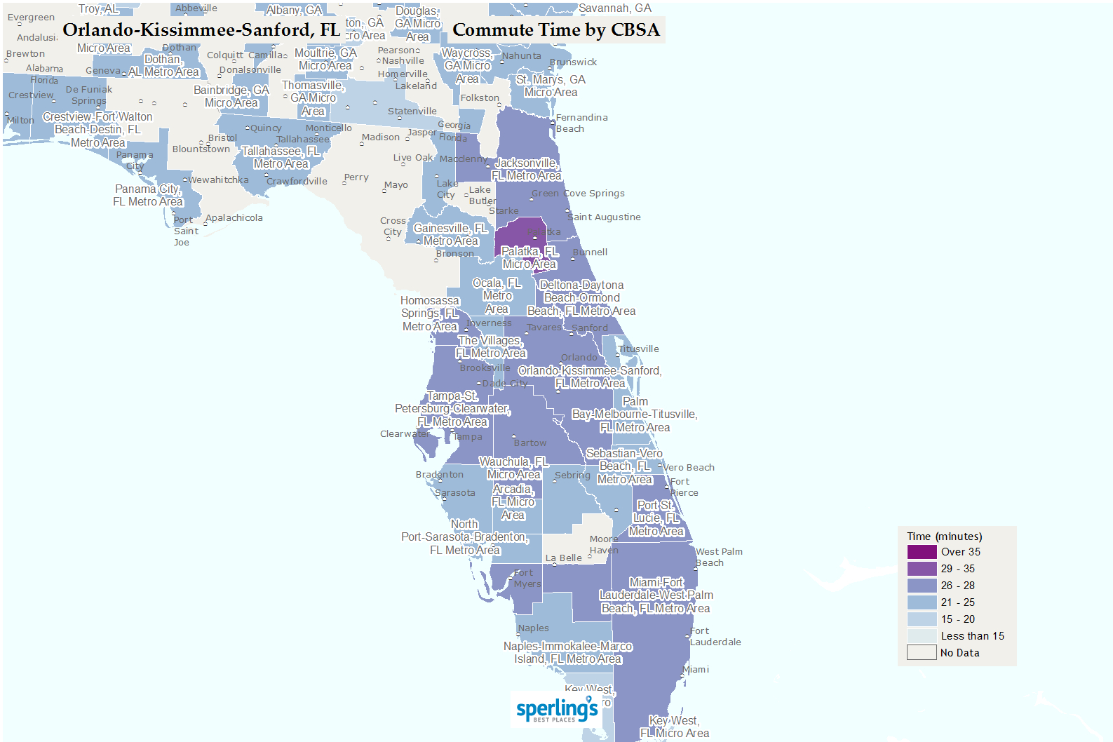Best Places To Live | Compare Cost Of Living, Crime, Cities, Schools - Lake Mary Florida Map